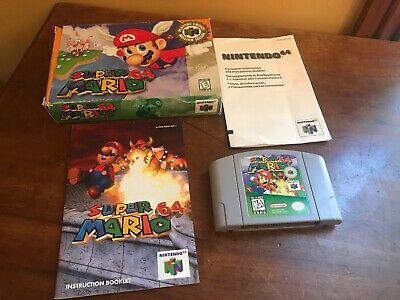 Super Mario 64 - Authentic Nintendo 64 (N64) Game - With Original Box