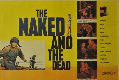 The Naked And The Dead 4 X 400ft Reels Super 8mm Film