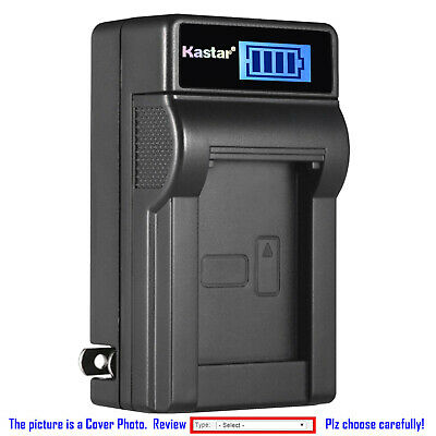Kastar Battery LCD Wall Charger for Sony NP-BX1 NPBX1 & Sony Cyber-shot DSC-HX80