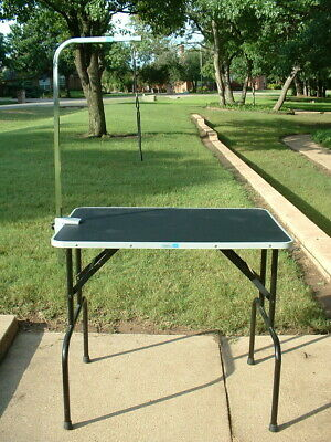 """Master Equipment 36"""" x 24"""" Adjustable Professional Pet/Dog Grooming Table"""