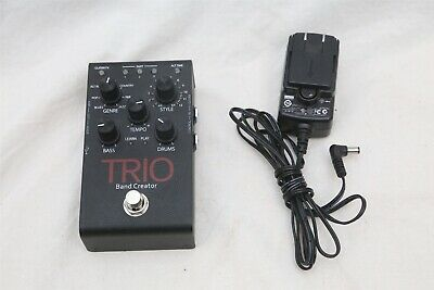 DigiTech TRIO Band Creator Band In A Box Programmable Guitar Effects Pedal