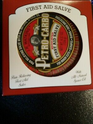 J.R.Watkins 06613 Petro Carbo Medicated First Aid Salve, 4.37 Oz New