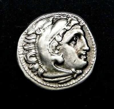 Philip III. Stunning Drachm. Brother of Alexander the Great. Greek Silver Coin.