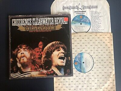 CCR Creedence Clearwater Revival Chronicle LP Vinyl VG+/VG+