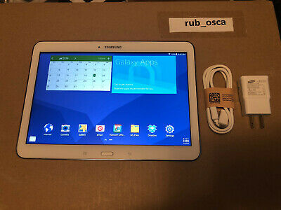 Samsung Galaxy Tab 4 SM-T530NU 16GB, Wi-Fi, 10.1in - White - EXCELLENT CONDITION