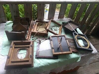 Antique Photographic home developing equipment 20 piece lot