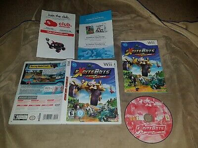 ExciteBots Trick Racing (Nintendo Wii) - Complete - NTSC Excite Bots