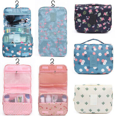 Travel Cosmetic Makeup Toiletry Bag Wash Waterproof Storage Toilet Hanging Pouch