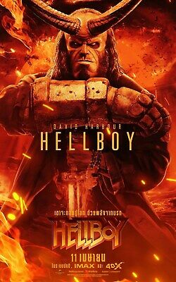 Hellboy (4K UHD 2019) NEVER WATCHED 4K UHD DISC ONLY READ DESCRIPTION