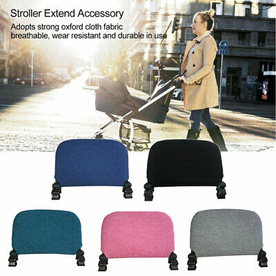 21cm Baby Stroller Extended Seat Extension Footrest Pedal Pushchair Foot Support