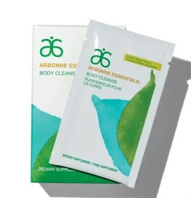 Arbonne Essentials Body Cleanse 7 packets  NEW in Unopened Box Exp: 5/2021