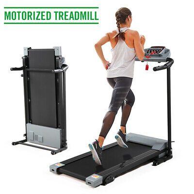 2.0HP Folding Treadmill Electric Motorized Power Running Jogging Fitness Machine