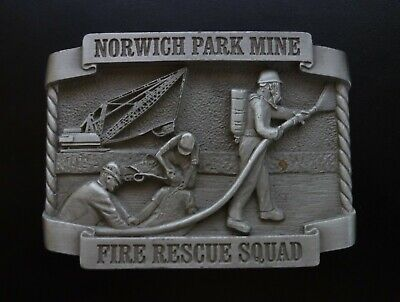 Norwich Park Mine Mining Belt Buckle Limited Edition # 94