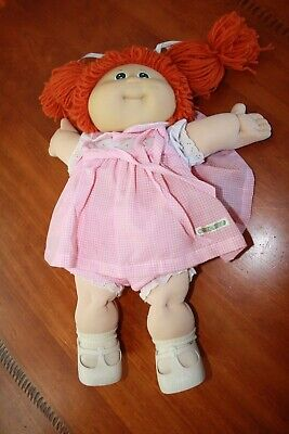 Cabbage Patch Kids - Vintage Redhead Girl