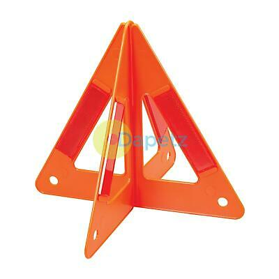 Emergency Safety Warning Triangle Reflective Fold Up & Hard Case