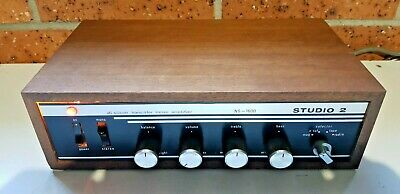 STUDIO 2 NS-1600 all silicon transistor stereo amplifier made in JAPAN