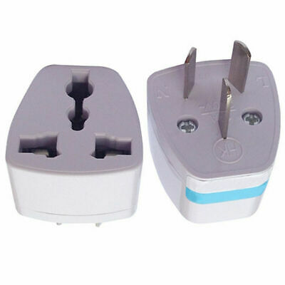 5pcs UK/US/EU to AU AUS AC Power Plug Adapter Travel 3 pin Australia  Suppl G1B6