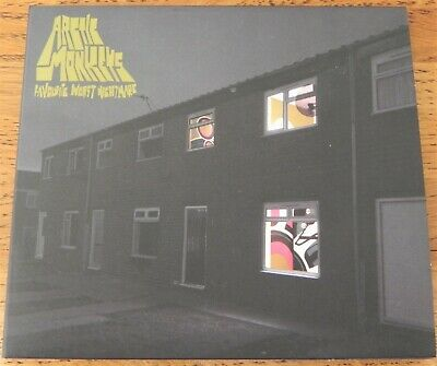 ARCTIC MONKEYS > FAVOURITE WORST NIGHTMARE  CD Album > Parental Advisory!