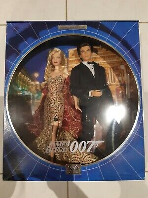 James Bond 007 BARBIE Doll ken NRFB 2002 Collector EDITION B0150