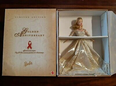 GOLDEN Anniversary TOYS R US BARBIE Doll NRFB 1998 LIMITED EDITION 20038