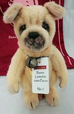 SPECIAL OFFER! Charlie Bears 2015 Minimo BONES Dog (Limited No 7/2000) RRP £90