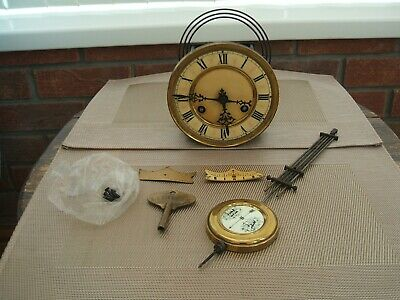 Vintage Complete Clock Movement Only