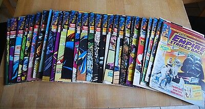 Collection of 28 Vintage Marvel Empire Strikes Back Comics; Good Condition