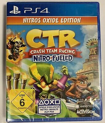 CTR Crash Team Racing Nitro Fueled Nitros Oxide Edition PS4