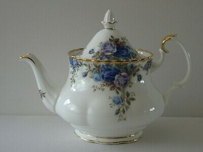 Royal Albert Moonlight Rose Medium Teapot Bone China England