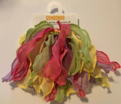 Gymboree NWT 2-pc Multi-Color BIRTHDAY PARTY RIBBON CURLIES DRESS HAIR ACCESSORY