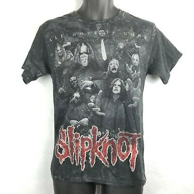 Slipknot Rock Band Heavy Metal All Hope Is Gone Album T Shirt Small