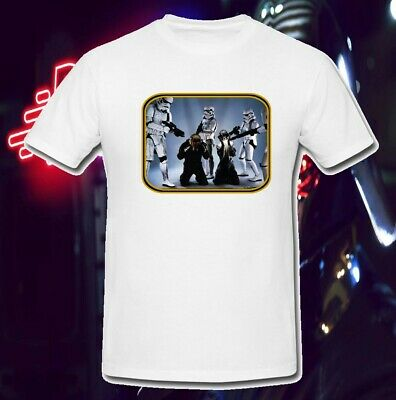 Daft Punk Vs Star Wars Stormtroopers Dj 70'S Comic T Shirt