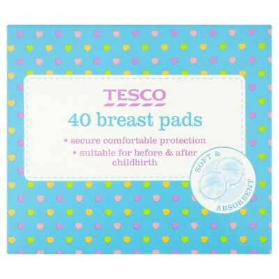 Tesco Disposable 40 Breast Pads