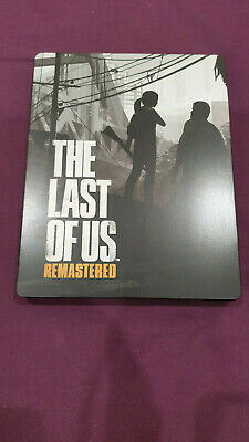 The Last of Us Remastered PS4 - Steelbook and Game -Very Rare