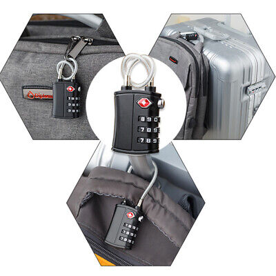 1 Pc Luggage Lock 3-Digit TSA Approved Padlock for Toolbox Suitcases