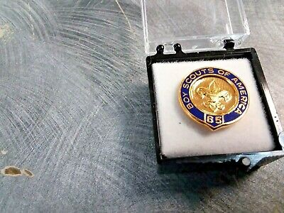 Boy Scouts Of America Bsa Official 65 Year Veteran Pin Oa Jamboree Camp Trading