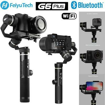 Feiyu G6Plus 3-Axis Handheld Gimbal Stabilizer for Mirroress& DSLR Camera &GoPro
