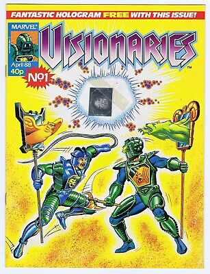 Visionaries #1 1988 With Free Gift Hologram Very Fine