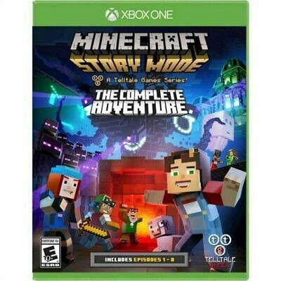Minecraft Story Mode The Complete Adventure Game for XBOX ONE Video Games