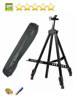 Artist Folding Telescopic Painting Easel Tripod Canvas Studio Display Stand New