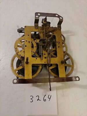 Antique Ingraham Mantle Clock Movement