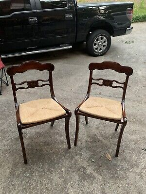 duncan phyfe Pair Of Chairs