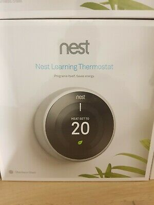 NEST Learning Thermostat, 3rd Generation - BRAND NEW !!! TOP SELLER!!