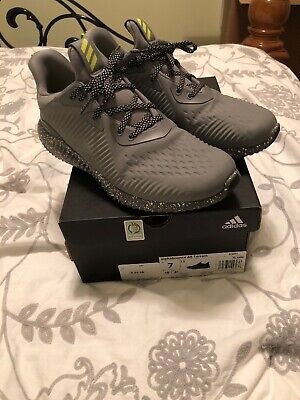 Adidas Alphabounce All Terrain Black Trail Running Shoes Kids Size 7 Eur 40