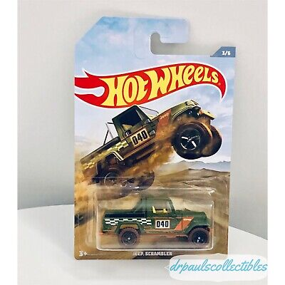 Hot Wheels Off Road Truck Series JEEP SCRAMBLER Brand New HTF