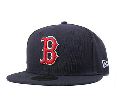 New Era 59Fifty Boston Red Sox Game Mlb Authentic Collection On-Field Navy