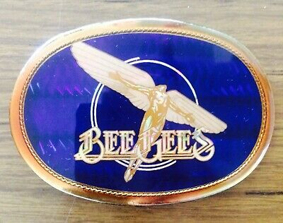 Vintage Bee Gees Pacifica Belt Buckle 1978