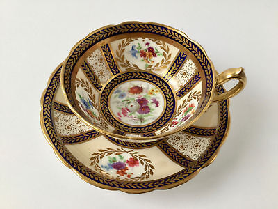 Paragon For Her Majesty Queen Mary Cup and Saucer