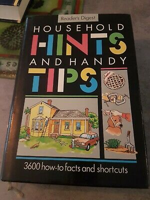 Readers Digest 1990 Household Hints And Handy Tips Book