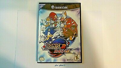 WORKING GAME Book Case SONIC 2 ADVENTURE BATTLE  for NINTENDO GAMECUBE   [2187]